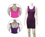 Wholesale Womens Ex Chainstore Vest Dress BodyCon